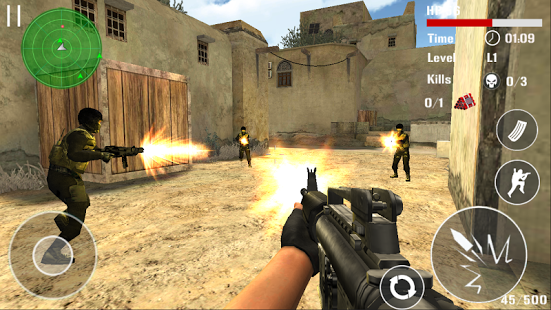 Counter Terrorist Shoot MOD APK Unlimited Money Free Download