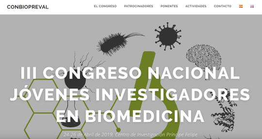 Jóvenes de toda España se reúnen en València en el III Congreso Nacional de Jóvenes Investigadores en Biomedicina
