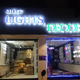 Shree lights & Decors lights show rooms in Tirupati