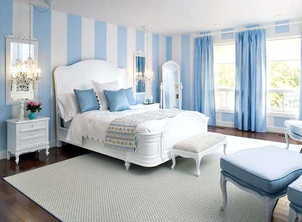 55 Simple Bedroom Decorations Blue Paint Colors (Minimalist, Classic And Modern)