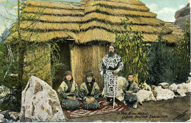 Ainu a la Japan-British Exhibition (1910)
