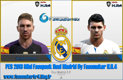 PES 2013 Mini Facepack Real Madrid By Facemaker H.R.4
