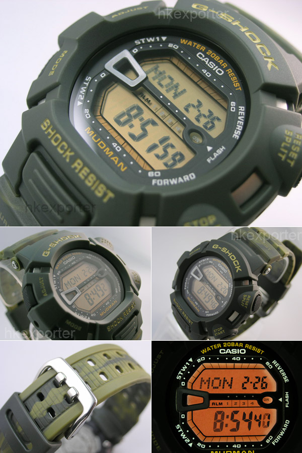 Casio G Shock User Guide and Review: G 9000, Mudman Series
