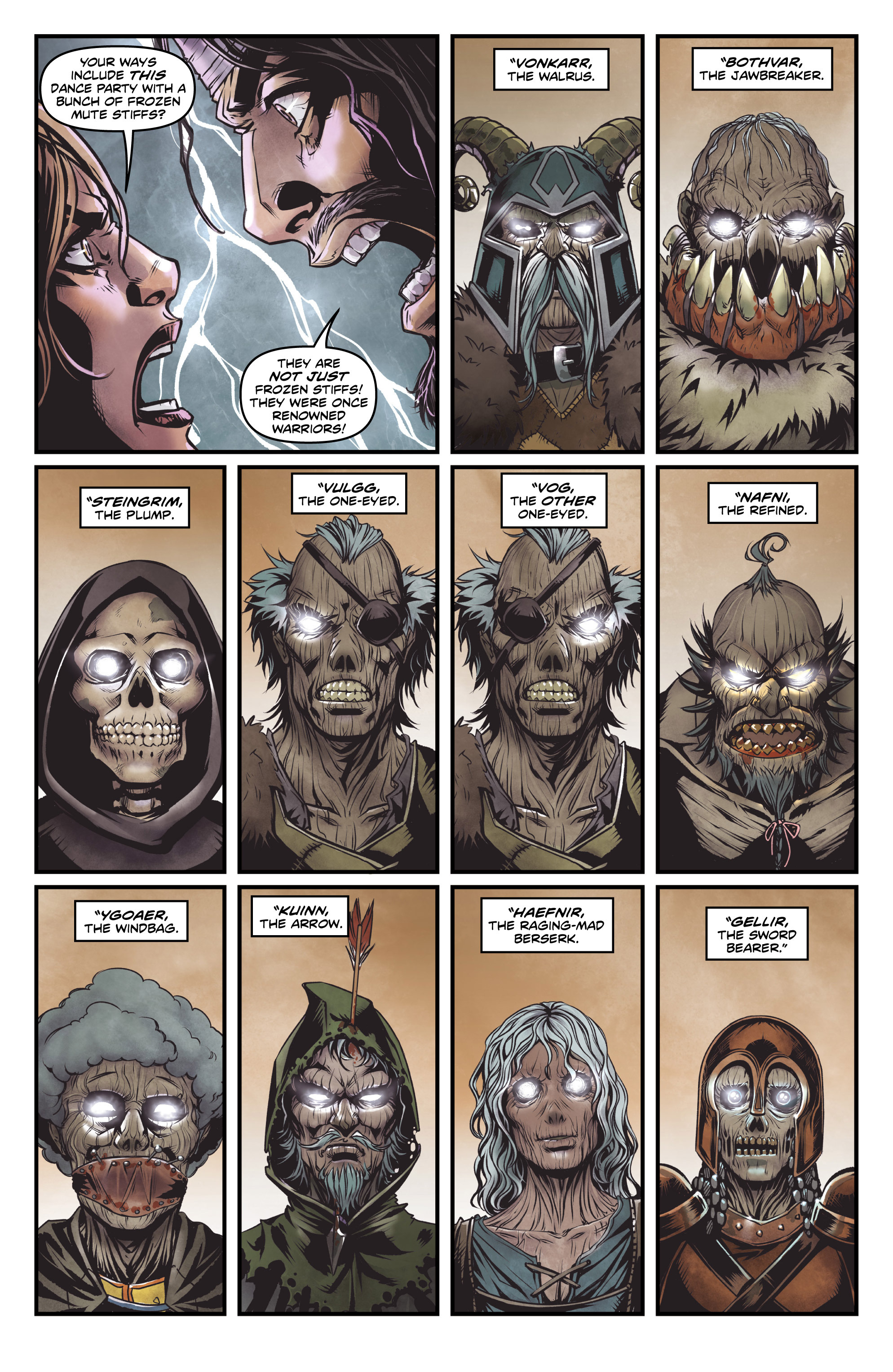 Read online Rogues! (2014) comic -  Issue #2 - 6