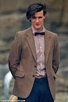 Eleventh Doctor, Matt Smith wearing a bow tie