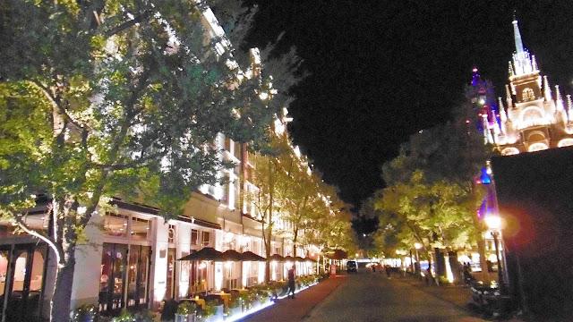 ハウステンボス ホテルアムステルダムの夜景