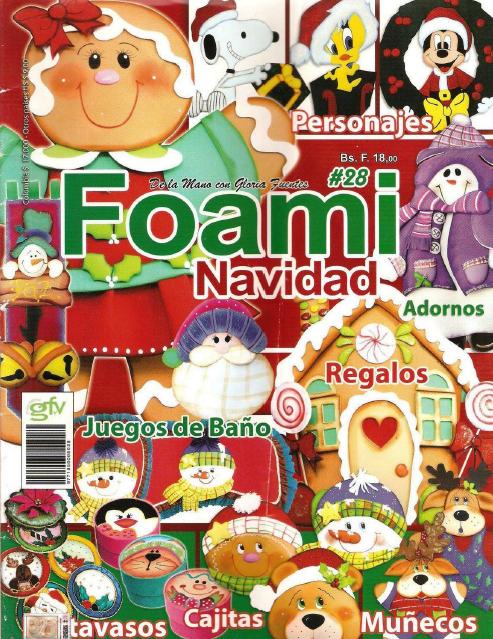 Foami Navidad Nro. 28
