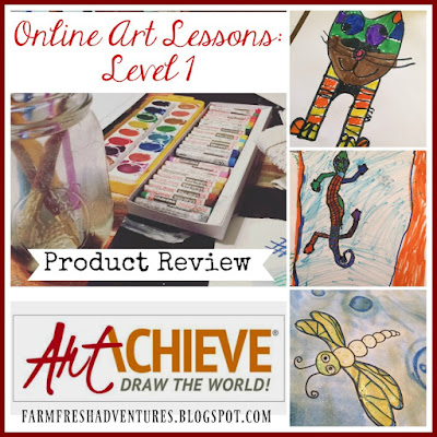 ArtAchieve~ Online Art Lessons: Level 1 (A review)