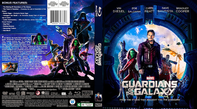 Capa Bluray Guardians Of The Galaxy