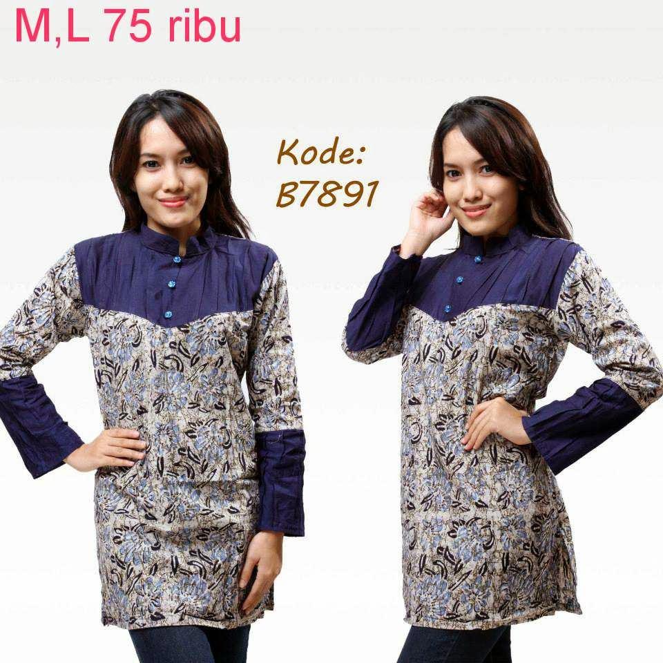 Model Baju Batik Semi Formal: Baju Batik Model Baru