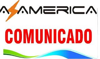 Comunicado AZ-América sobre boatos na internet