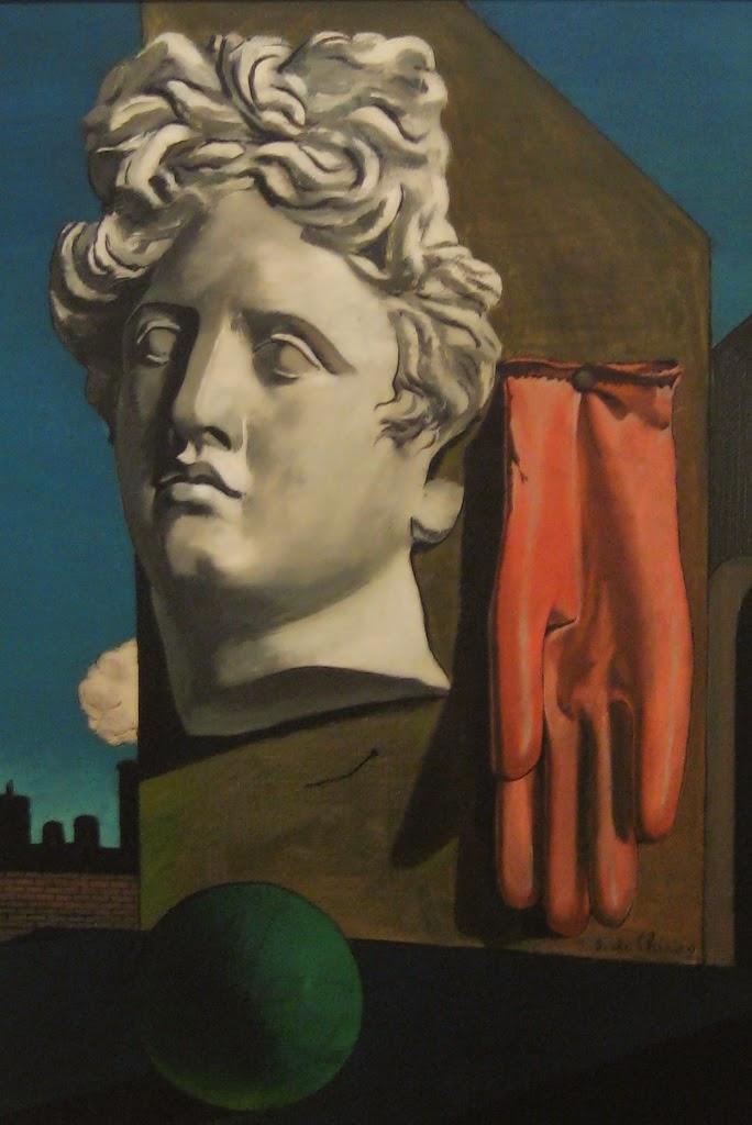 Canção de Amor - Giorgio de Chirico ~ Representante da pintura metafísica