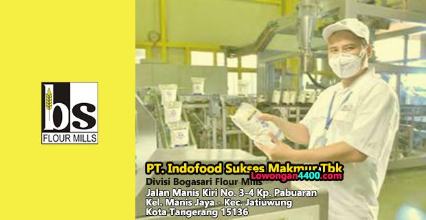 Lowongan Kerja PT Indofood Sukses Makmur Tbk Divisi Bogasari Flour Mills Tahun 2019