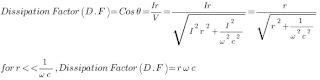 Dissipation Factor