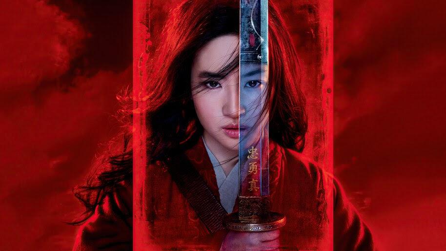 Mulan, Sword, 2020, Yifei Liu, 4K, #5.1440