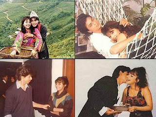 Shahrukh Khan and Gouri Khan