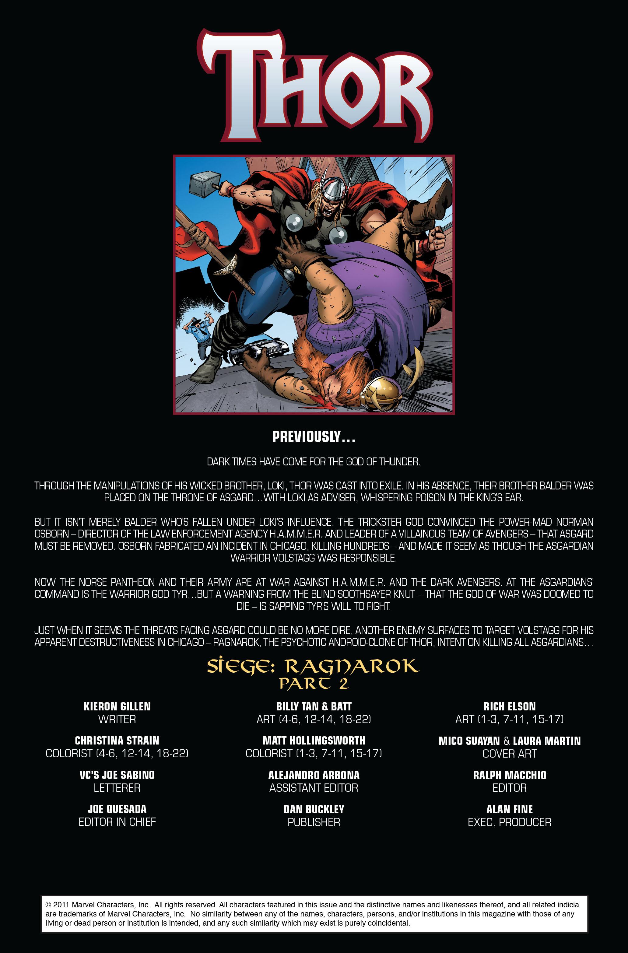 Thor (2007) Issue #608 #21 - English 2
