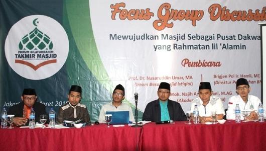 BNPT Minta Pengurus Masjid Pemerintah Waspada dari Paham Radikal