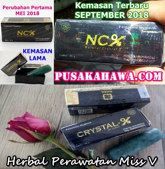 NCX Crystal X Obat Keputihan Ijin POM NA 18171600045