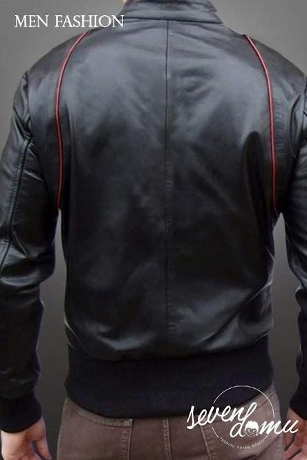 seven domu sk24 jaket kulit untuk motoran