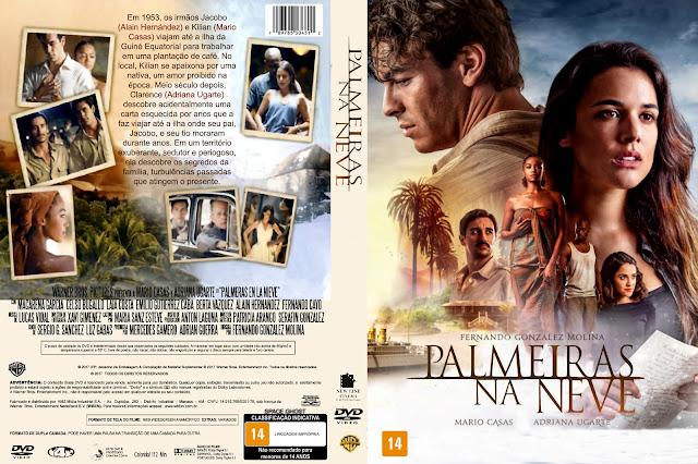 Capa DVD Palmeiras Na Neve