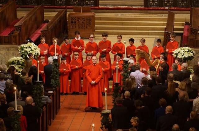 John Scott with St. Thomas Choir, New York