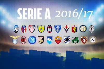 Daftar Klub Liga Italia Serie A 2016-2017