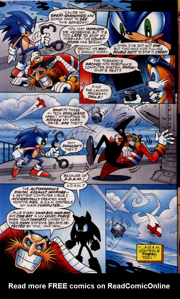 Read online Sonic The Hedgehog comic -  Issue #132 - 4