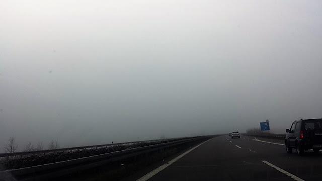 Auf der Autobahn unterwegs