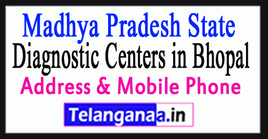 Diagnostic Centers in Bhopal In Madhya Pradesh