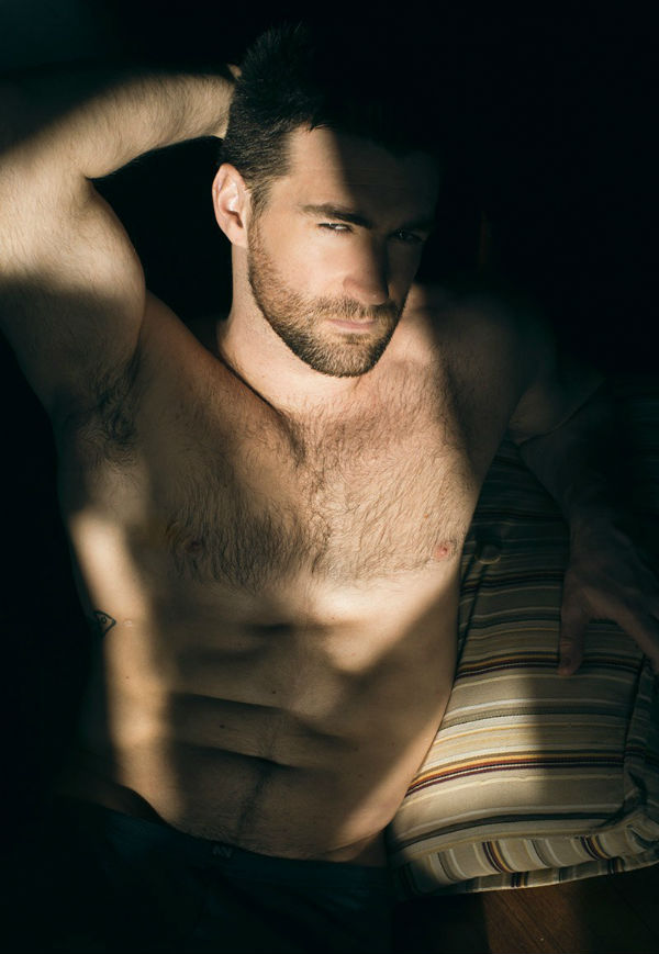 Woody Fox Shirtless by Max Damian
