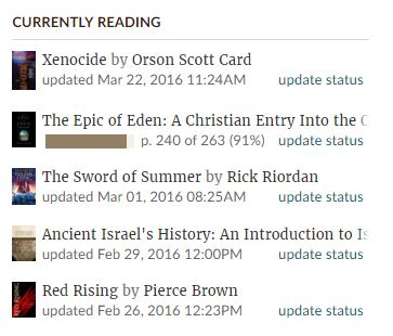 an analysis of the epic of eden by sandra l richter By sandra l richter (ivp, 2008) in the epic of eden [1] , sandra richter attempts to assist readers in the task of organizing primarily already known information about the old testament she presents the ot in such a way as to place preliminary knowledge onto a covenantal framework while filling in some gaps with additional information.