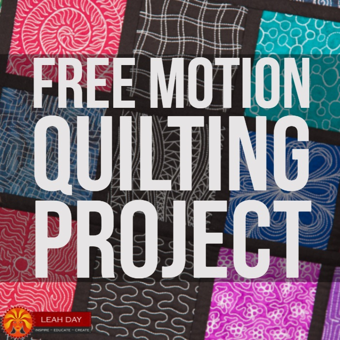 The Free Motion Quilting Project : 365 days of quilting - Adamdwight.com