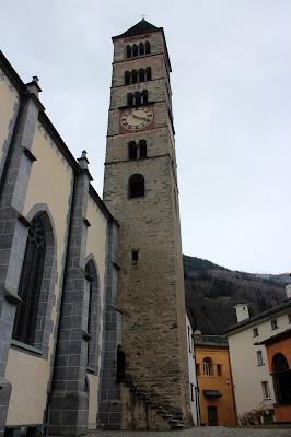 Torre románica de la iglesia de Poschiavo