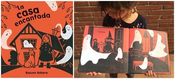 cuento infantil niños halloween La casa encantada Picarona