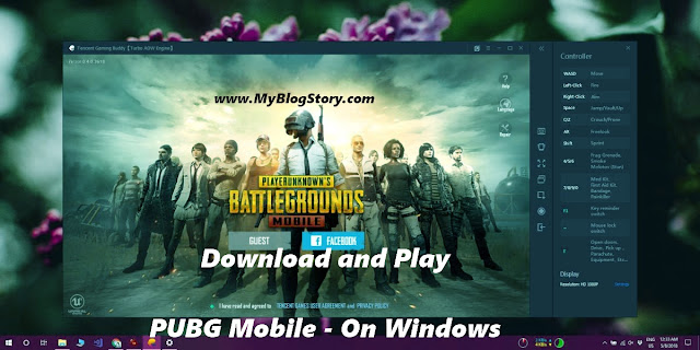 Play PubG mobile On Windows
