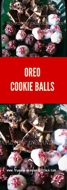 No Bake Cookies Oreo Truffle Balls Sandwich Cookies