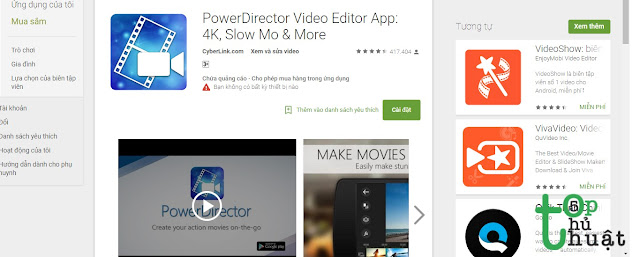 Phần mềm chỉnh sửa video Power Director