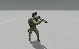 Arma3で格闘攻撃が可能なMOD