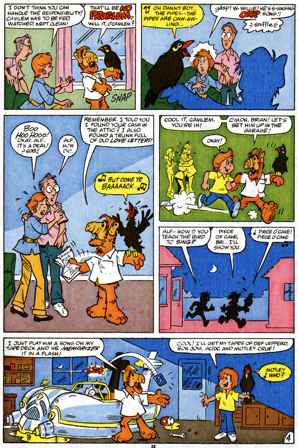 Read online ALF comic -  Issue #11 - 17