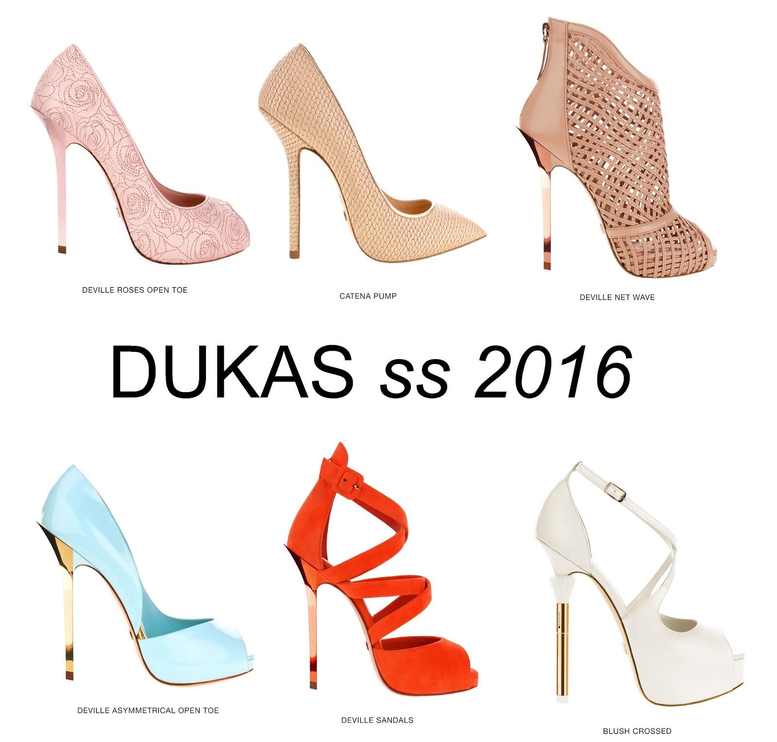 7de4f67d52 DUKAS Άνοιξη Καλοκαίρι 2016. Η νέα συλλογή παπουτσιών του Δούκα Χατζηδούκα