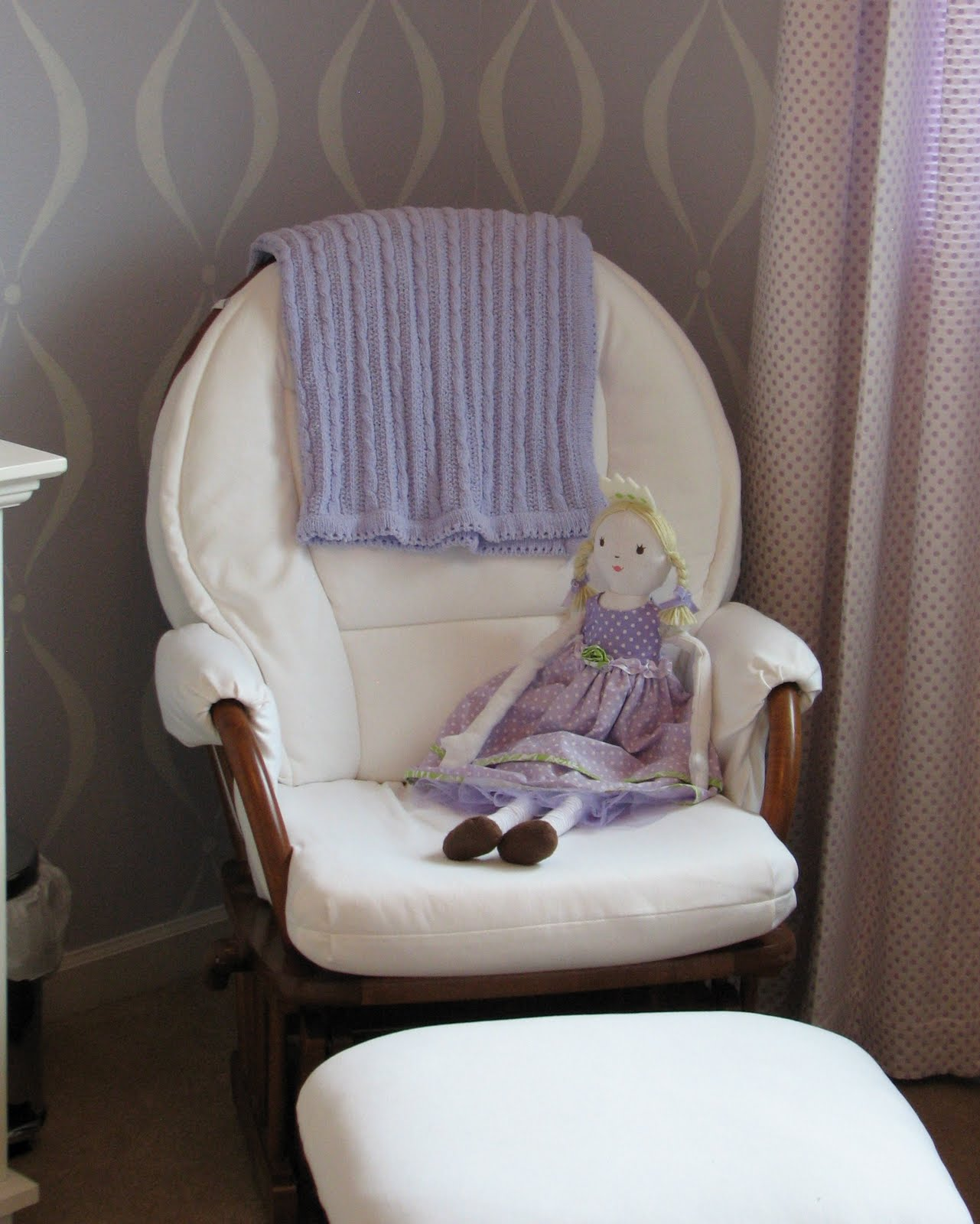 Pottery Barn Kids Doll High Chair Mid Century Barrel Dining What I Made Today Charlotte 39s Nursery