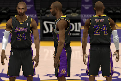 NBA 2K13 Los Angeles Lakers Unveil 'Hollywood Nights' Uniforms