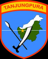 Logo Kodam XII Tanjung Pura