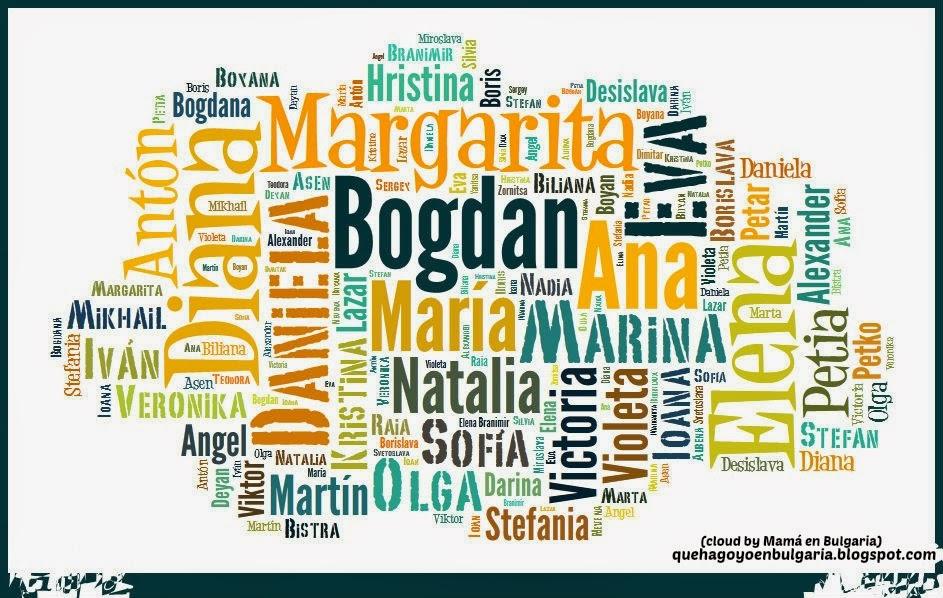 nombres búlgaros bulgarian names