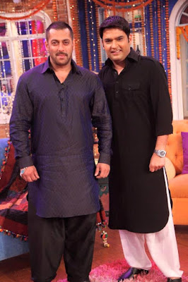 Sultan Film Star's Salman Khan and Comedy King Kapil Sharma invest in a Marathi Movie SpotboyE