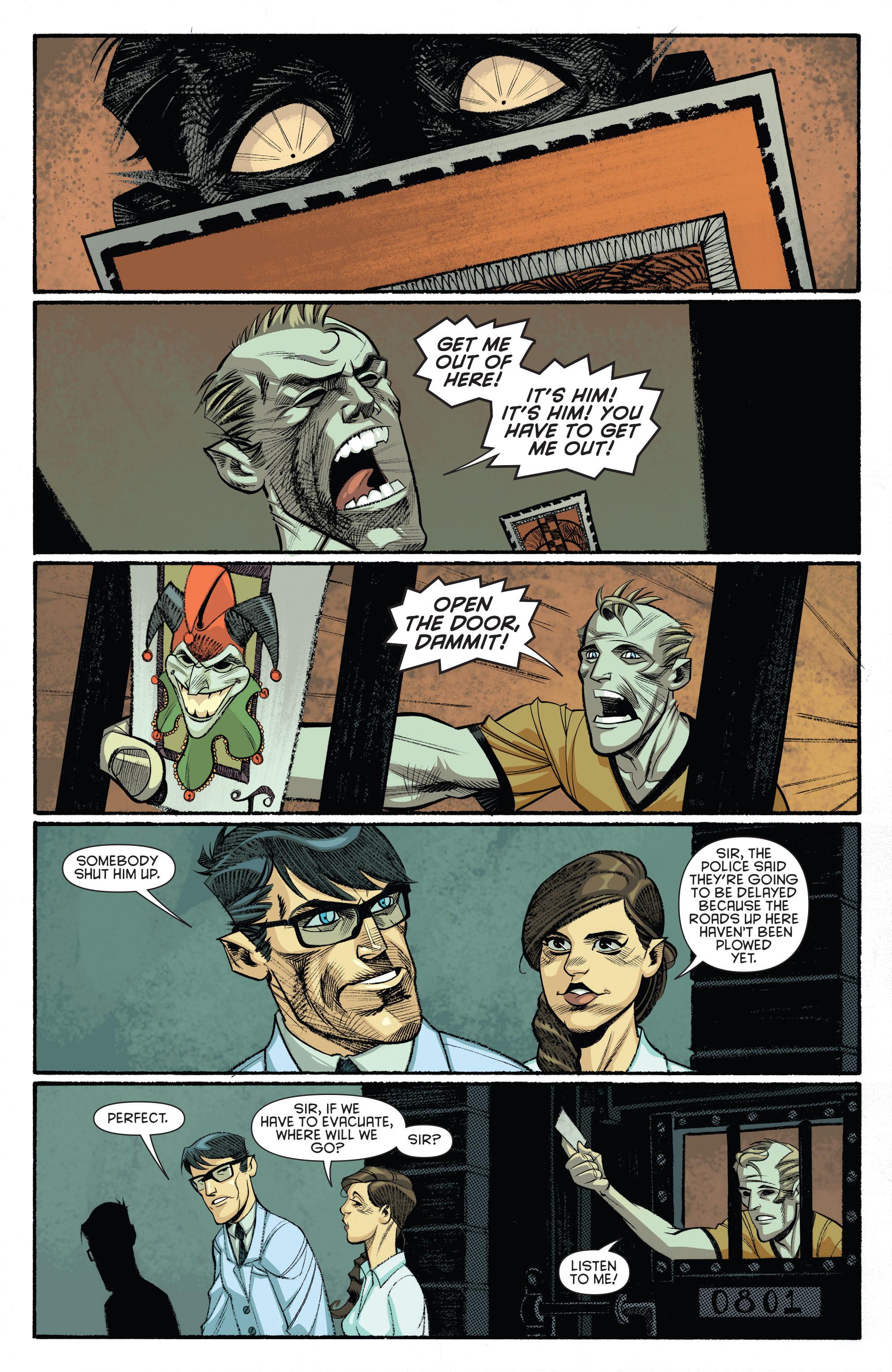Read online Arkham Manor comic -  Issue #5 - 3