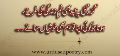 Guzar Gayi Ye Eid Bhi Gham-E-Zindagi Ki Tarhaa,
