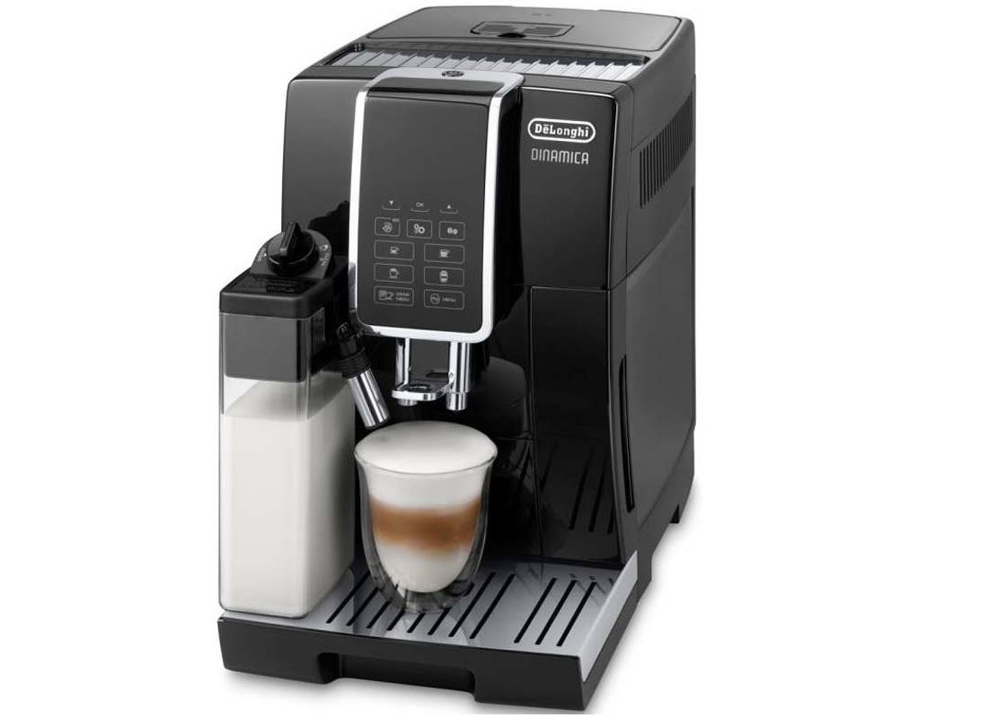 review de 39 longhi dinamica bean to cup coffee machine the test pit. Black Bedroom Furniture Sets. Home Design Ideas