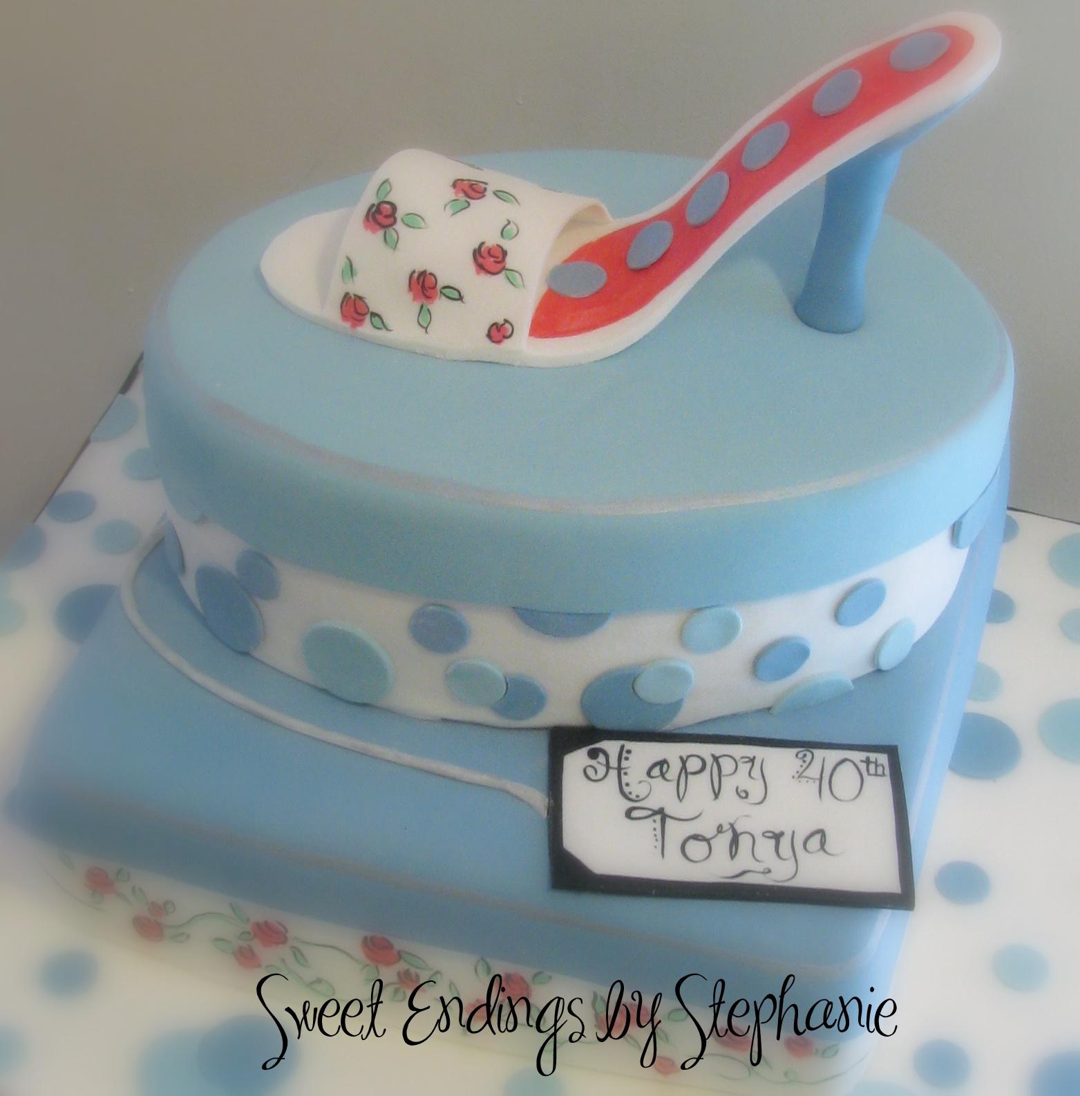 Blue Lives Cake